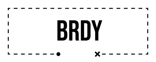 Mapa Brdy